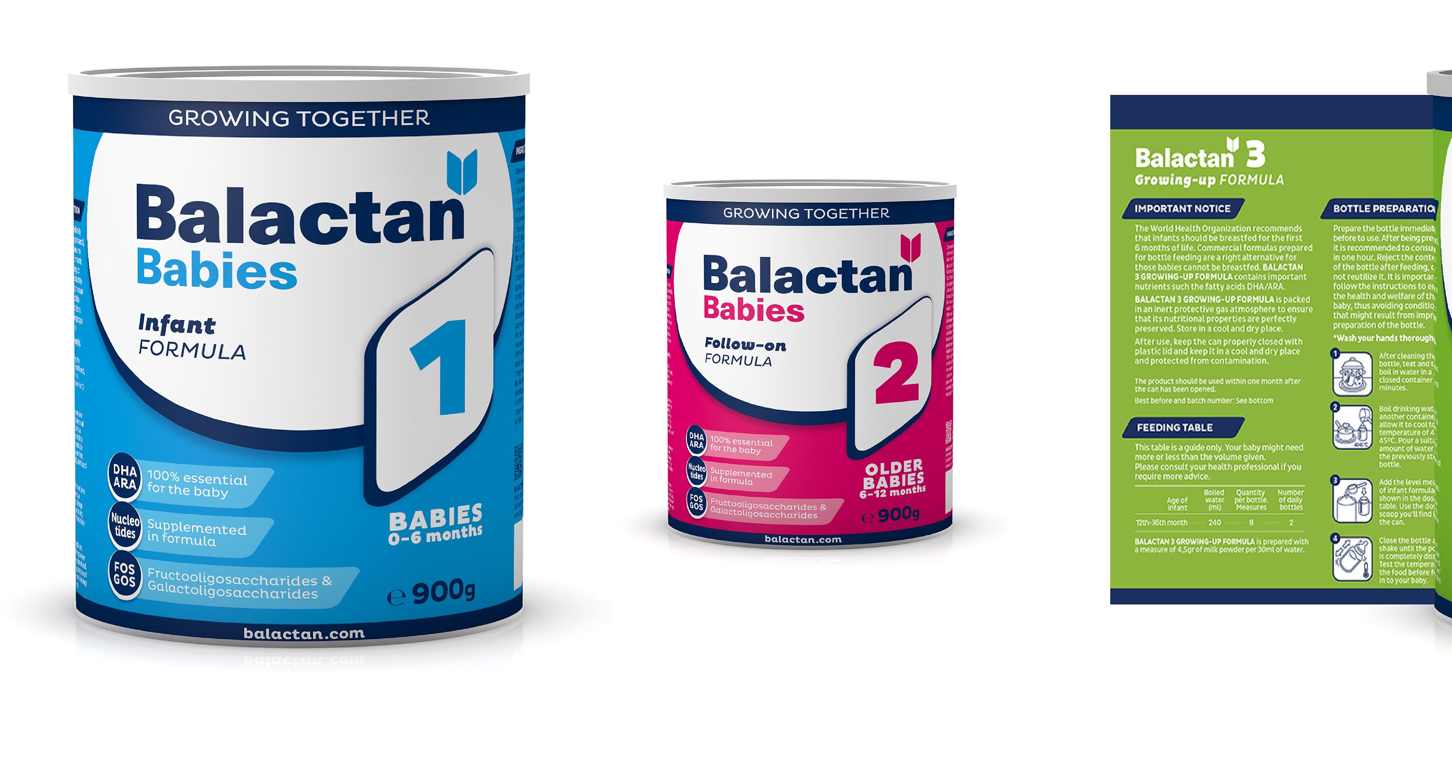 Branding Y Packaging_alimentación Infantil_leche Infantil_Balactan