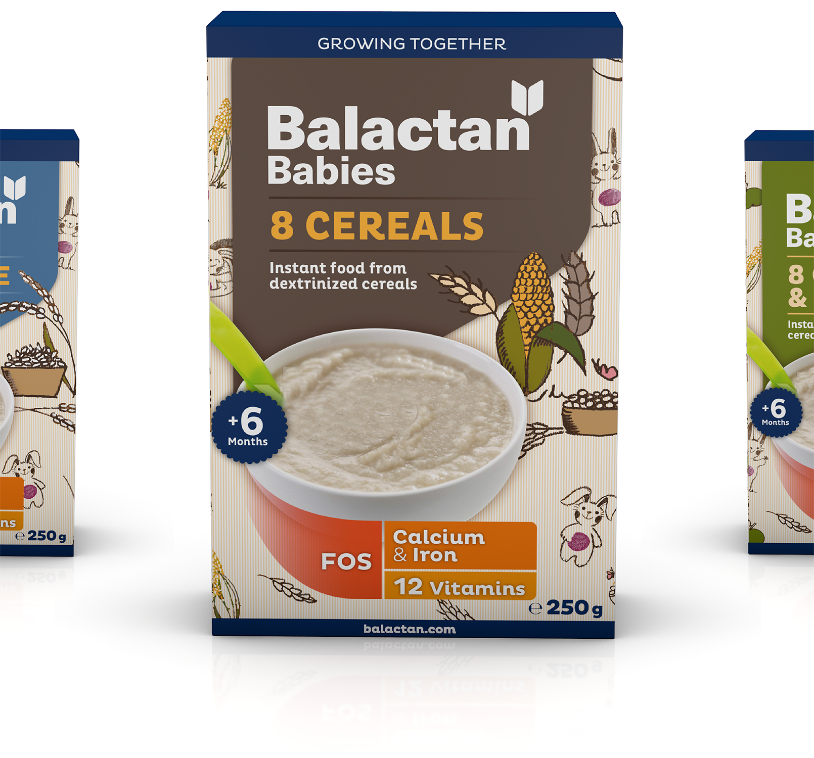 Branding Y Packaging_alimentación Infantil_cereales Infantiles_Balactan