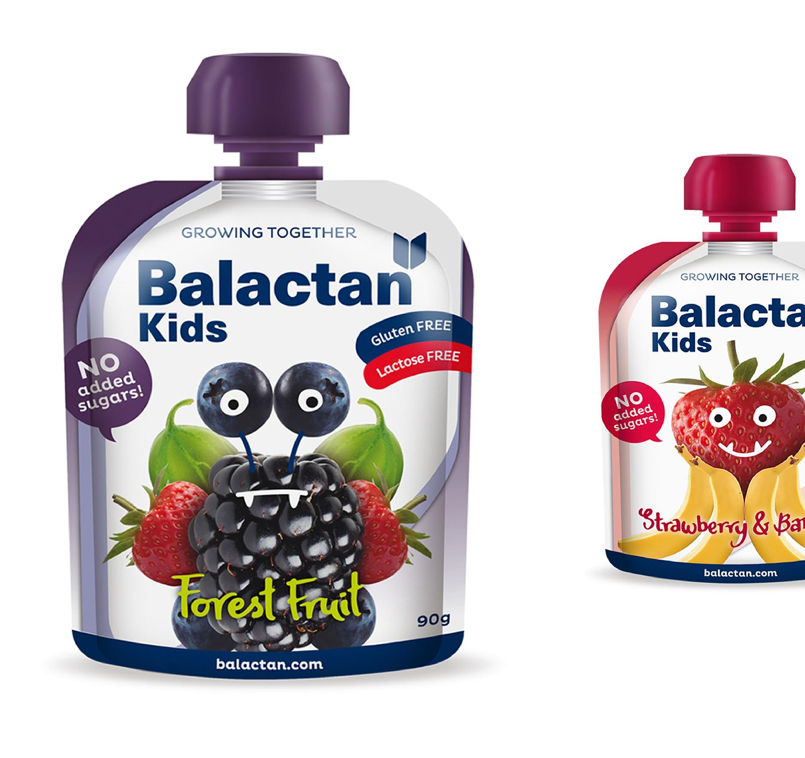 Branding Y Packaging_alimentación Infantil_fruit Pouch_Balactan
