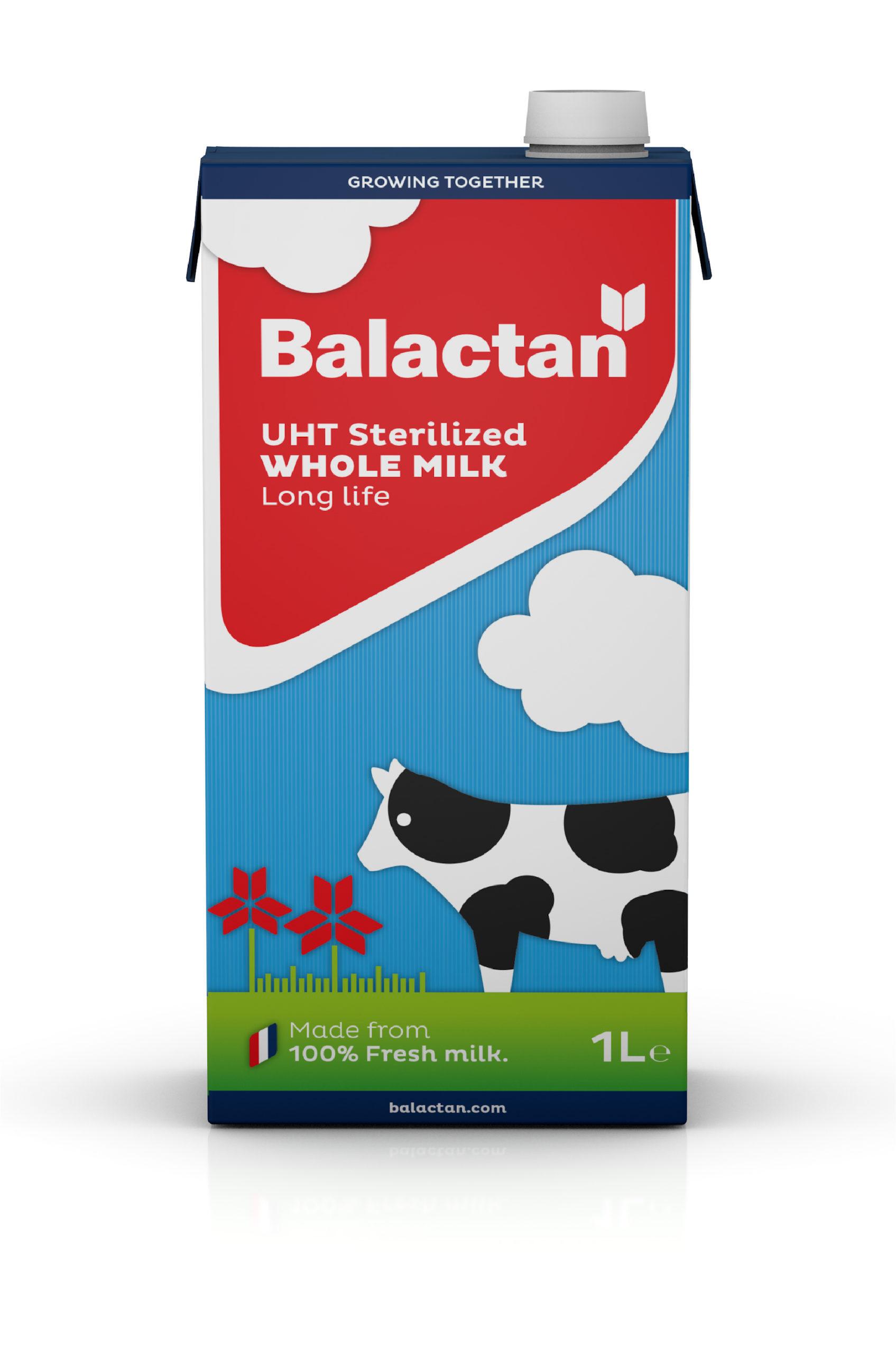 Branding Y Packaging_alimentación Infantil_leche UHT_Balactan