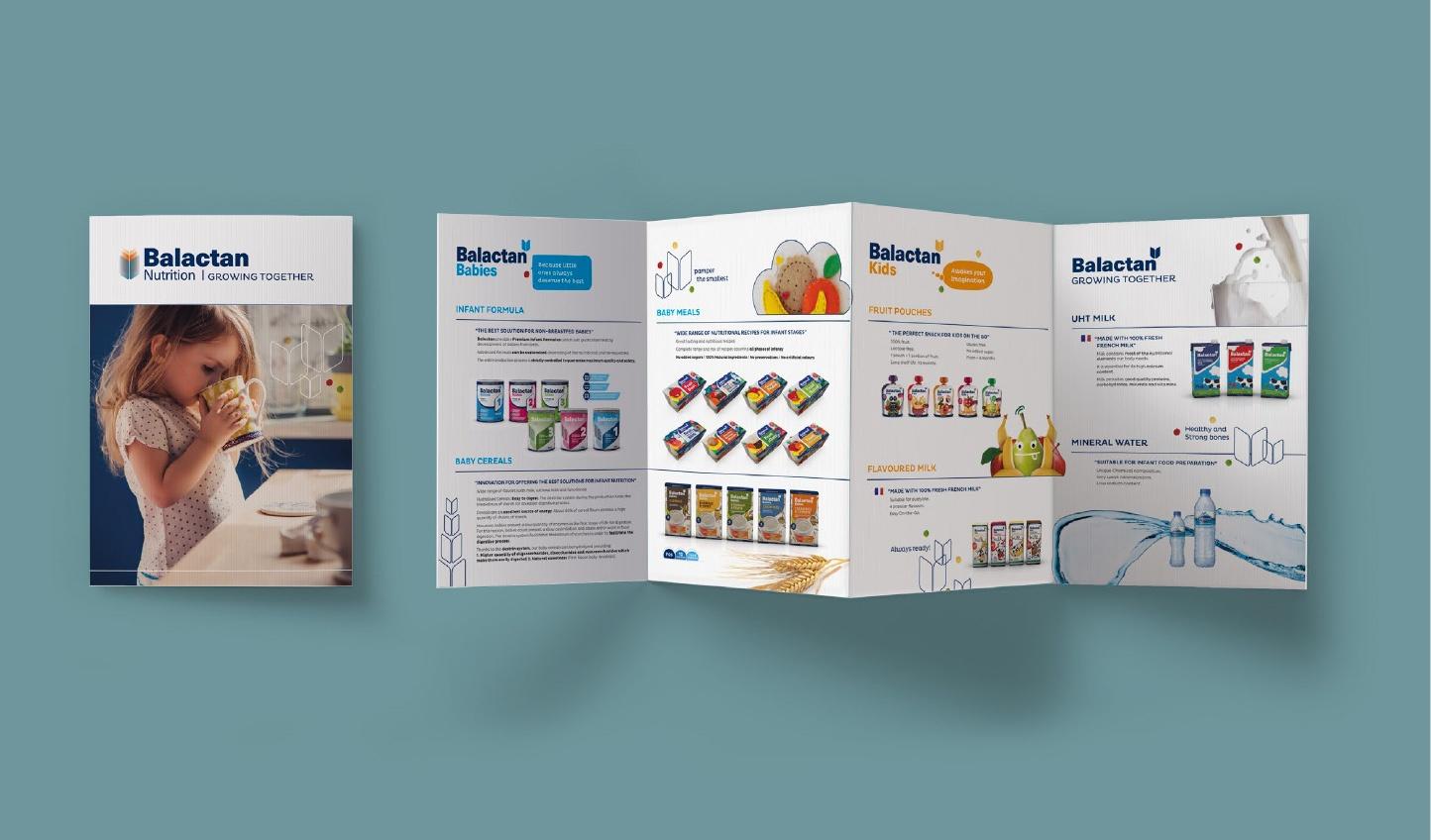 branding y packaging_alimentación infantil_sales folder_Balactan