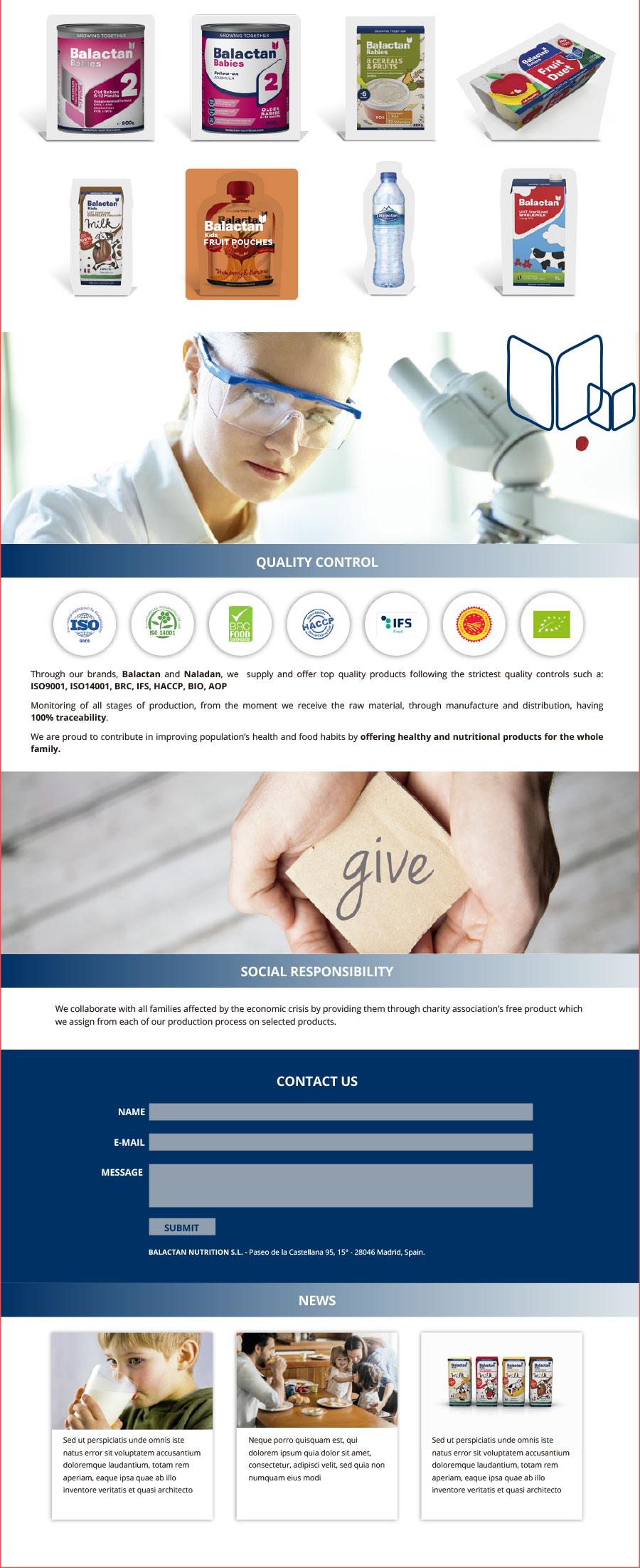branding y packaging_alimentación infantil_diseño web_Balactan