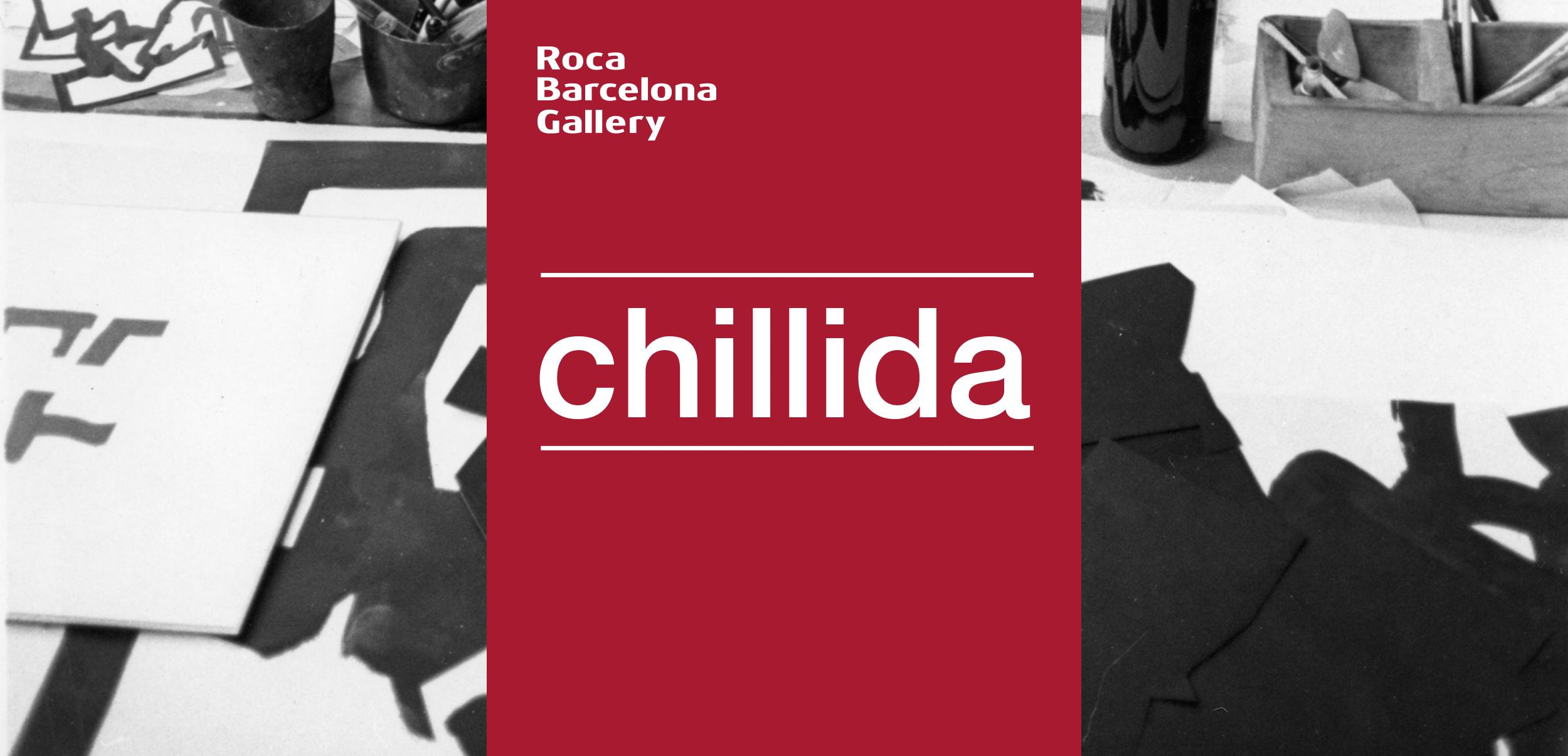 Diseño expositivo Chillida para Roca Barcelona Gallery
